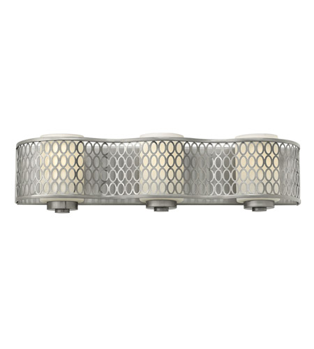 Hinkley 53243BN Jules 3 Light 22 inch Brushed Nickel Bath Wall Light photo