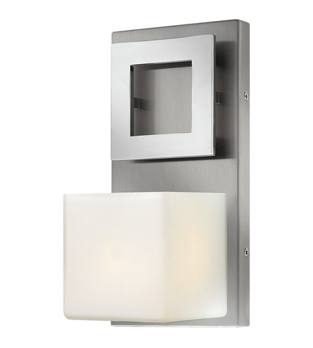 Hinkley 53350BN Mirage 1 Light 5 inch Brushed Nickel Bath Wall Light photo