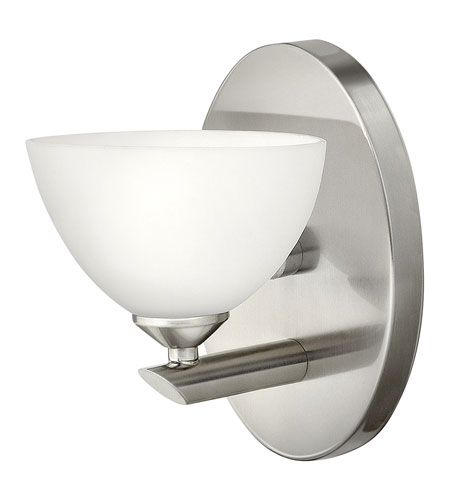 Hinkley Lighting Mia 1 Light Bath Vanity in Brushed Nickel 5340BN