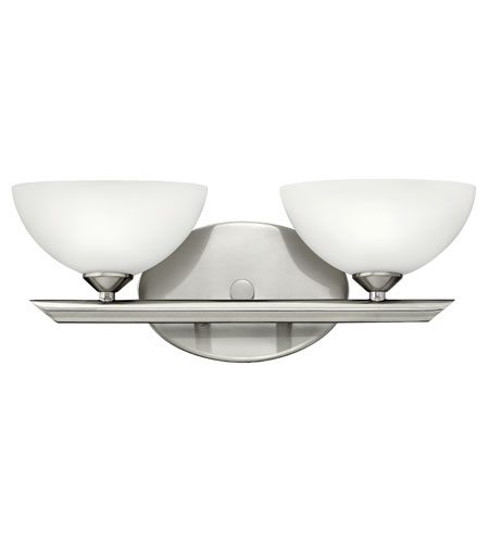 Hinkley Lighting Mia 2 Light Bath Vanity in Brushed Nickel 5342BN
