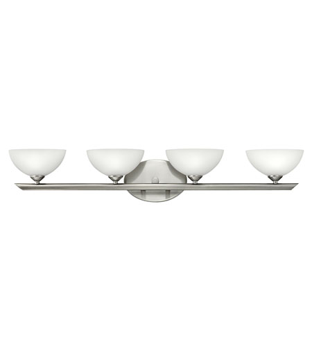 Hinkley 5344BN Mia 4 Light 32 inch Brushed Nickel Bath Vanity Wall Light photo