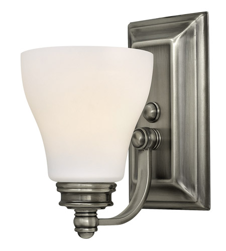 Hinkley 53580AN Claire 1 Light 5 inch Antique Nickel Bath Wall Light photo