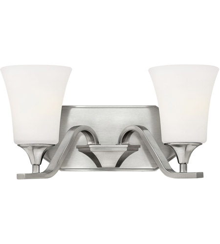 Hinkley Lighting Brantley 2 Light Bath Vanity in Brushed Nickel 5362BN