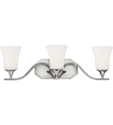 Hinkley Lighting Brantley 3 Light Bath Vanity in Brushed Nickel 5363BN