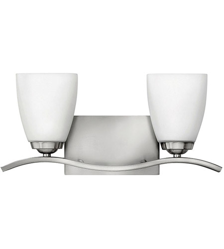 Hinkley Lighting Josie 2 Light Bath Vanity in Brushed Nickel 5372BN