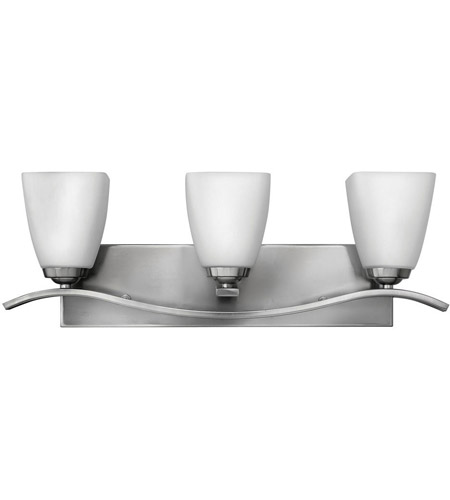 Hinkley Lighting Josie 3 Light Bath Vanity in Brushed Nickel 5373BN