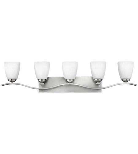 Hinkley Lighting Josie 5 Light Bath Vanity in Brushed Nickel 5375BN photo