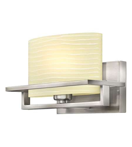 Hinkley Lighting Capri 1 Light Bath Vanity in Brushed Nickel 5380BN