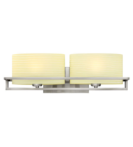 Hinkley Lighting Capri 2 Light Bath Vanity in Brushed Nickel 5382BN