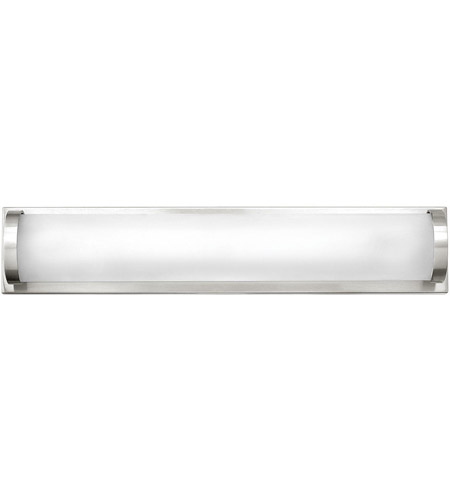 Hinkley 53842PN Acclaim LED 16 inch Polished Nickel Bath Light Wall Light, Etched Glass photo