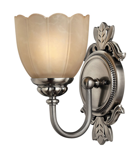 Hinkley 5390PL Isabella 1 Light 6 inch Polished Antique Nickel Bath Vanity Wall Light photo