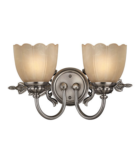 Hinkley Lighting Isabella 2 Light Bath Vanity in Polished Antique Nickel 5392PL photo