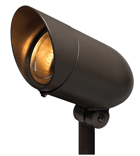 Hinkley Lighting Line Voltage Accent 1 Light LED 60 Degree Flood Landscape in Bronze 54000BZ-LED60