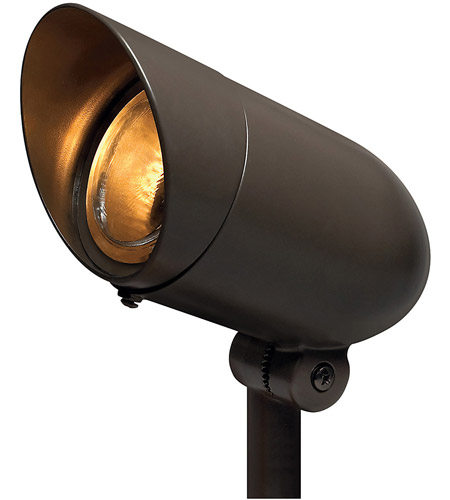 Hinkley 54000BZ Signature 120V 75 watt Bronze Landscape Spot Light, Line Voltage photo