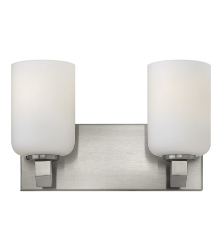 Hinkley 54132BN Skylar 2 Light 13 inch Brushed Nickel Bath Vanity Wall Light photo