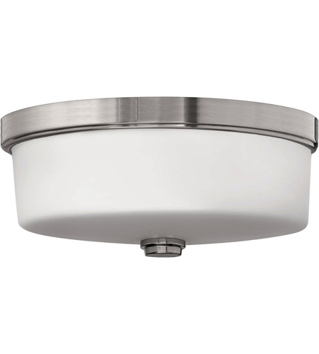 Hinkley Lighting Devon 3 Light Flush Mount in Brushed Nickel 5421BN