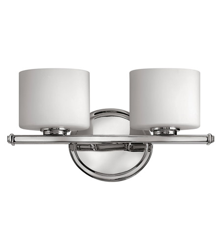 Hinkley 5422CM Ocho 2 Light 14 inch Chrome Bath Vanity Wall Light photo