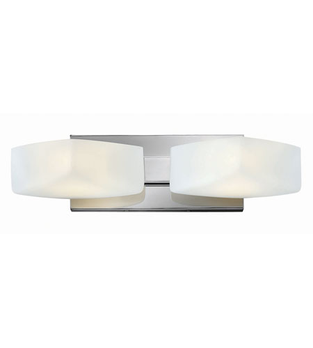 Hinkley Lighting Quantum 2 Light Bath in Chrome 54422CM
