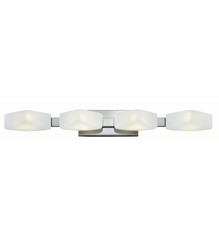Hinkley Lighting Quantum 4 Light Bath in Chrome 54424CM