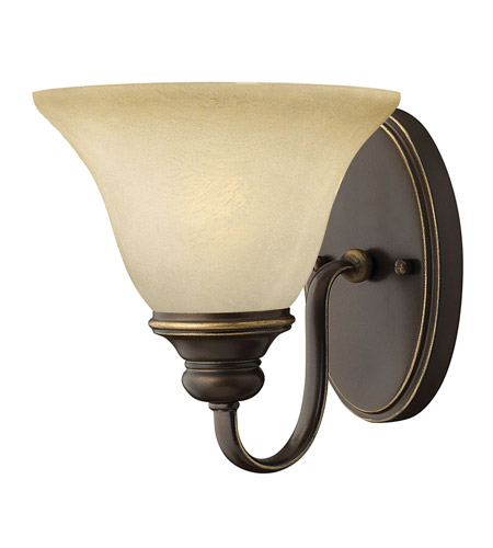 Hinkley 5450AT Cello 1 Light 9 inch Antique Bronze Sconce Wall Light photo