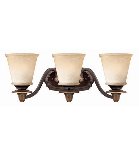 Hinkley Lighting Plymouth 3 Light Bath Vanity in Olde Bronze 5473OB photo