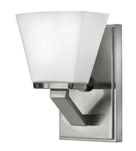 Hinkley Lighting Nico 1 Light Bath Vanity in Brushed Nickel 5500BN
