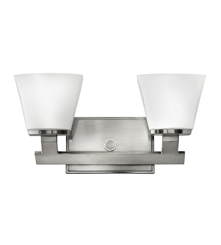 Hinkley Lighting Nico 2 Light Bath Vanity in Brushed Nickel 5502BN