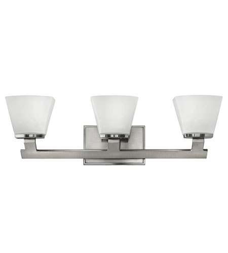 Hinkley Lighting Nico 3 Light Bath Vanity in Brushed Nickel 5503BN photo