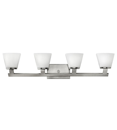 Hinkley Lighting Nico 4 Light Bath Vanity in Brushed Nickel 5504BN