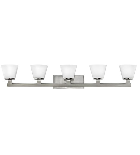 Hinkley Lighting Nico 5 Light Bath Vanity in Brushed Nickel 5505BN