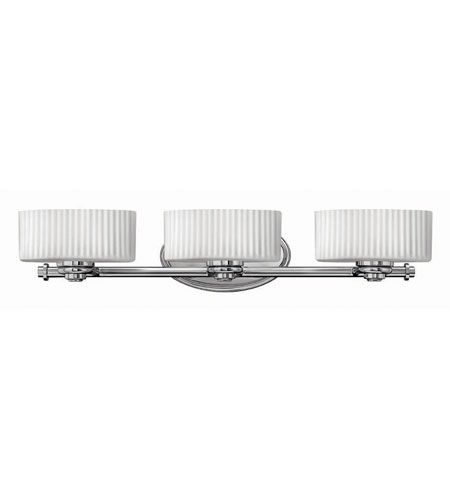 Hinkley Lighting Cari 3 Light Bath Vanity in Chrome 5523CM photo