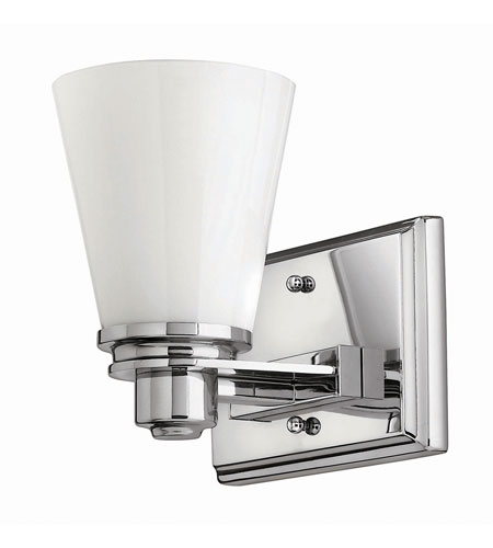 Hinkley Lighting Avon 1 Light Bath in Chrome 5550CM-GU24 photo