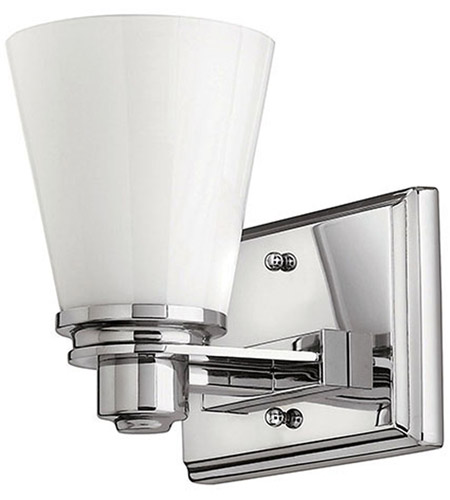 Hinkley Lighting Avon 1 Light Bath Vanity in Chrome 5550CM