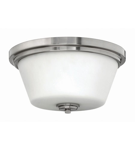 Hinkley Lighting Avon 2 Light Flush Mount in Brushed Nickel 5551BN-LED photo