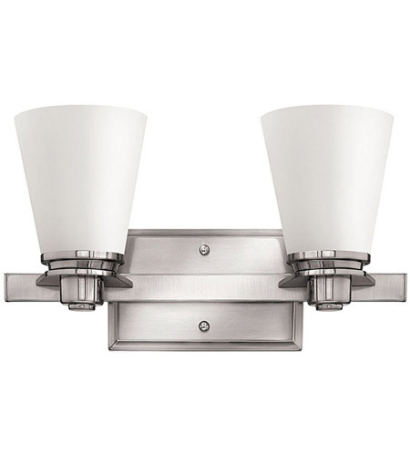 Hinkley Lighting Avon 2 Light Bath Vanity in Brushed Nickel 5552BN photo