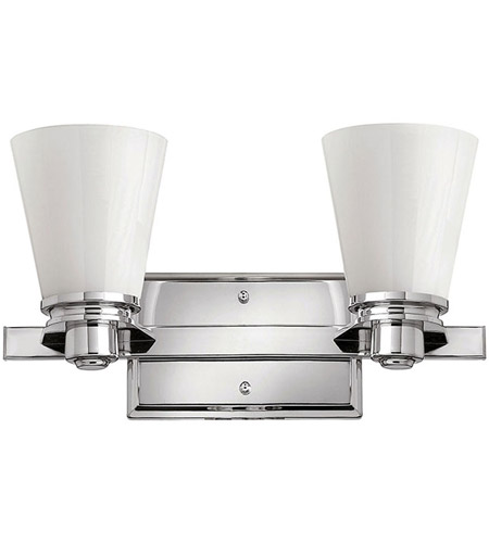 Hinkley Lighting Avon 2 Light Bath Vanity in Chrome 5552CM