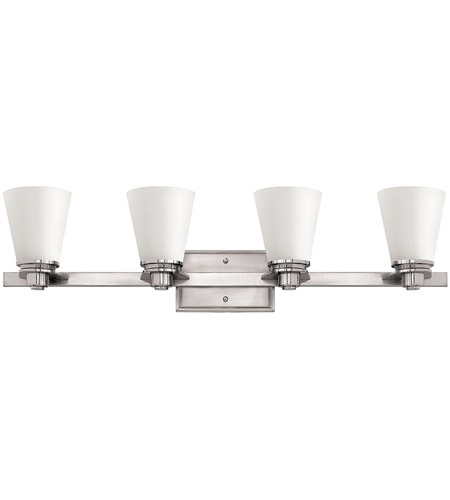 Hinkley Lighting Avon 4 Light Bath Vanity in Brushed Nickel 5554BN