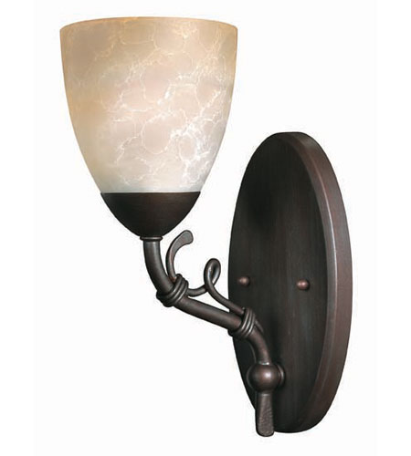 Hinkley Lighting Portofino 1 Light Bath Vanity in Victorian Bronze 5560VZ photo