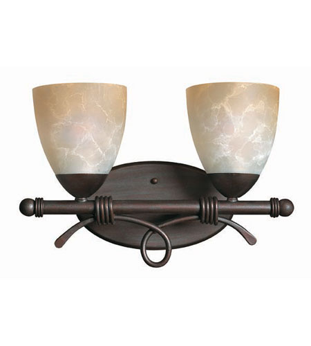 Hinkley Lighting Portofino 2 Light Bath Vanity in Victorian Bronze 5562VZ