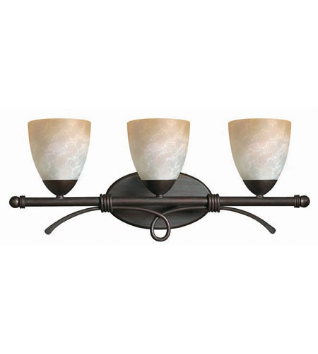 Hinkley Lighting Portofino 3 Light Bath Vanity in Victorian Bronze 5563VZ