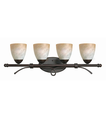 Hinkley Lighting Portofino 4 Light Bath Vanity in Victorian Bronze 5564VZ
