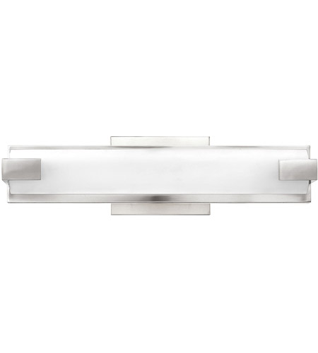 Dimmable Led Bathroom Wall Lights : Hinkley 55652PN Unity LED 16 inch Polished Nickel Bath Light Wall Light, Dimmable