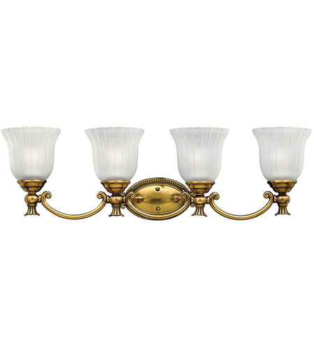 Hinkley 5584BB Francoise 4 Light 31 inch Burnished Brass Bath Light Wall Light photo