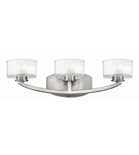 Hinkley Lighting Meridian 3 Light Bath in Brushed Nickel 5593BN-LED2