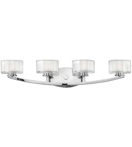 Hinkley Lighting Meridian 4 Light Bath Vanity in Chrome 5594CM