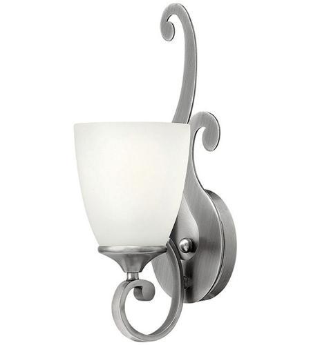 Hinkley Lighting Reese 1 Light Bath in Antique Nickel 56320AN