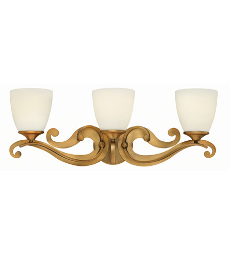 Hinkley Lighting Reese 3 Light Bath in Brushed Bronze 56323BR photo