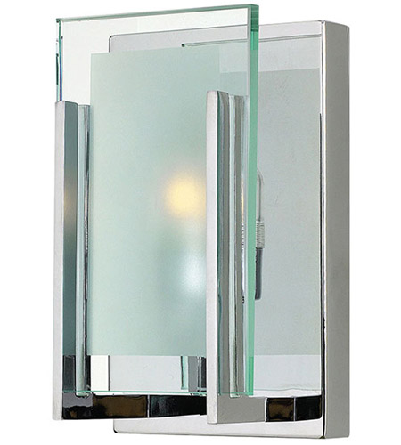 Hinkley 5650CM Latitude 1 Light 5 inch Chrome Bath Wall Light in G9 photo