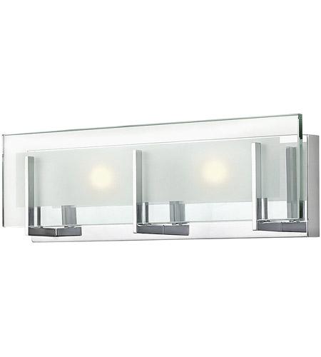 Hinkley 5652CM-LED2 Latitude LED 18 inch Chrome Bath Light Wall Light