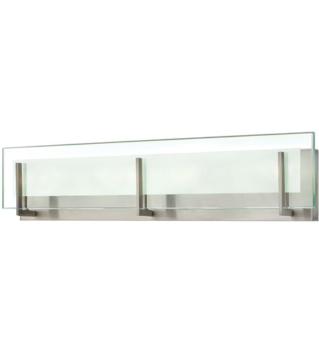 Hinkley 5654BN-LED2 Latitude LED 26 inch Brushed Nickel Bath Light Wall Light, Clear/Etched Glass photo